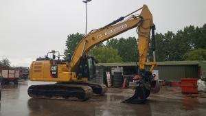 Rupskraan Caterpillar 2017 323FL CAT0323FKNCW10036 Overzichtsfoto 5